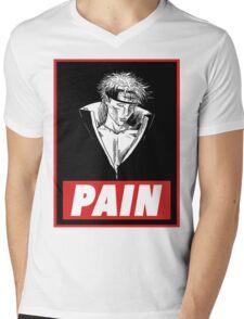 Pain Mens V-Neck T-Shirt