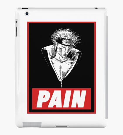 Pain iPad Case/Skin