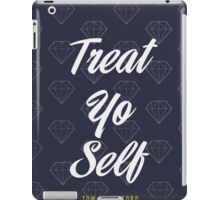 Treat Yo Self- Tom Haverford iPad Case/Skin