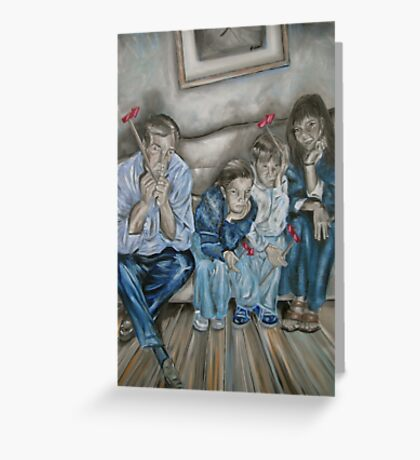 The Nobodies Greeting Card