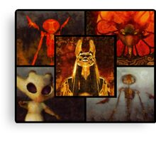 Fantasy Beasts Canvas Print