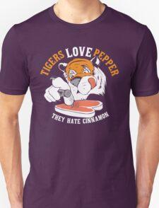 Tigers Love Pepper Unisex T-Shirt