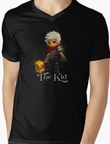 The Kid with Text Mens V-Neck T-Shirt