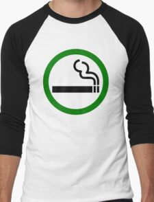 Smoke Up Men's Baseball ¾ T-Shirt