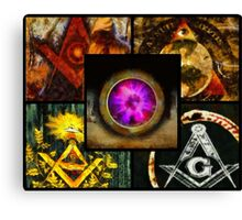 Brotherhood - Freemason Canvas Print