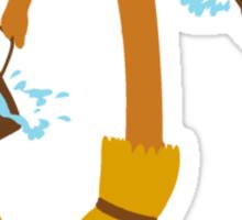 Fantasia Broomstick Sticker