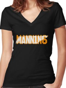 Peyton Manning Tennessee Women's Fitted V-Neck T-Shirt