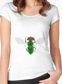 Pretty Fly For A...  Fly Women's Fitted Scoop T-Shirt