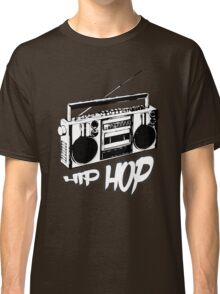 boombox hip hop rap urban graffiti breakdance dj 90s stereo retro Classic T-Shirt
