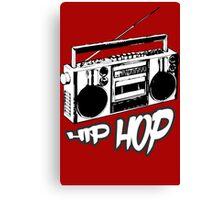 boombox t shirt hip hop hip hop clothing hip hop fashion urban clothing hip hop shop  Canvas Print