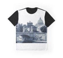 A look at history - St. Peter's Basilica Graphic T-Shirt