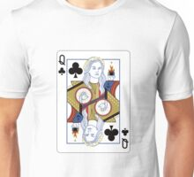Dark Swan of clubs Unisex T-Shirt