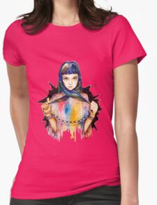 Chained Womens Fitted T-Shirt