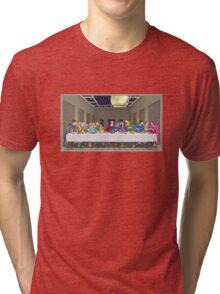Last Supper Tri-blend T-Shirt