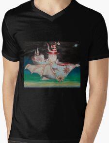 Tri-Utopia 3 Mens V-Neck T-Shirt