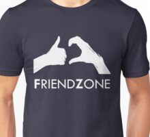Friendzone (white text) Unisex T-Shirt
