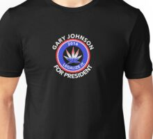 Gary Johnson for President 2016 | Legalize It Unisex T-Shirt