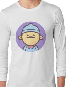 Mini Characters - Beanie Hipster Long Sleeve T-Shirt