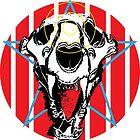 Lion Skull Americana by riomarcos