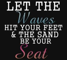 waves sand by Glamfoxx