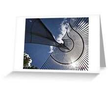 Metal Sculpture in Canberra/ACT/Australia Greeting Card