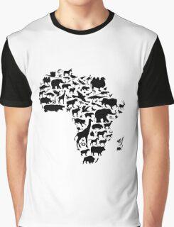 Animals of Africa Graphic T-Shirt