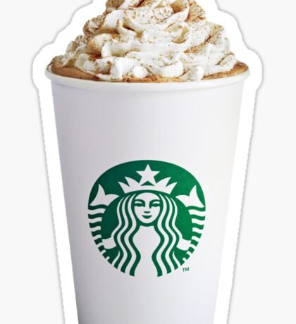 pumpkin spice latte  Sticker