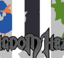 Kingdom Hearts 3 Silhouette  Sticker