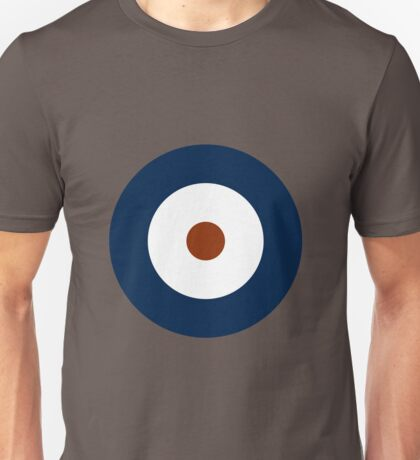 Royal Air Force - Historical Roundel Type A 1937 - 1942 Unisex T-Shirt