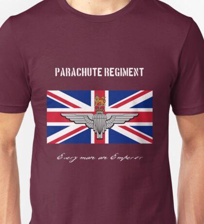 """Parachute Regiment (UK) """"Every Man An Emperor"""" Unisex T-Shirt"""