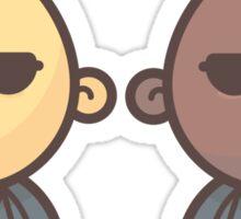 Mini Characters - Secret Agents Sticker