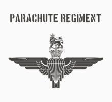 Parachute Regiment (UK) Black Kids Tee