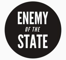 Enemy of the State (Black) by anarchei