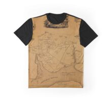 Map Of Mount Vernon 1859 Graphic T-Shirt