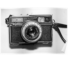 1970s German Vintage/Retro Camera by Karl Zeiss Poster