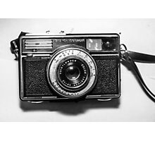 1970s German Vintage/Retro Camera by Karl Zeiss Photographic Print