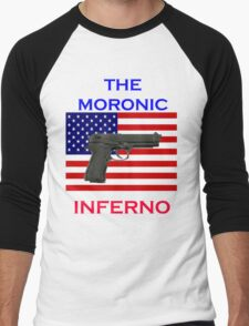 Trump USA - the moronic inferno Men's Baseball ¾ T-Shirt
