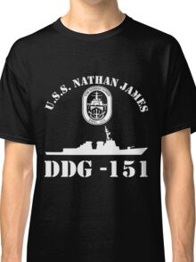 uss nathan james ship Classic T-Shirt