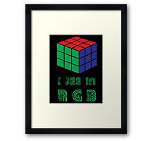 I see in RGB Framed Print