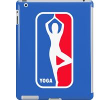 Major yoga league iPad Case/Skin