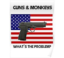 USA & Guns, what's the problem? Poster