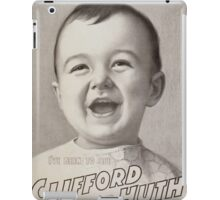 Performing Arts Posters Ive been to see Clifford and Huth 0951 iPad Case/Skin