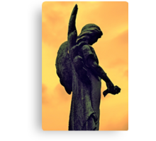The Dark Side of Angels  Canvas Print