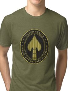 United States Special Operations Command Tri-blend T-Shirt