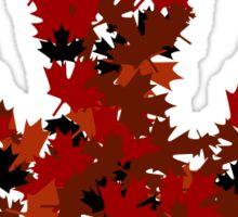 Maple Leaf Sticker