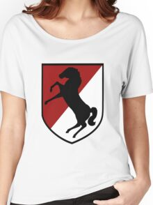 11th Armored Cavalry Regiment (US Army) Women's Relaxed Fit T-Shirt