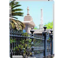 Lafayette Cemetery in New Orleans iPad Case/Skin