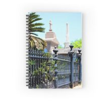 Lafayette Cemetery in New Orleans Spiral Notebook
