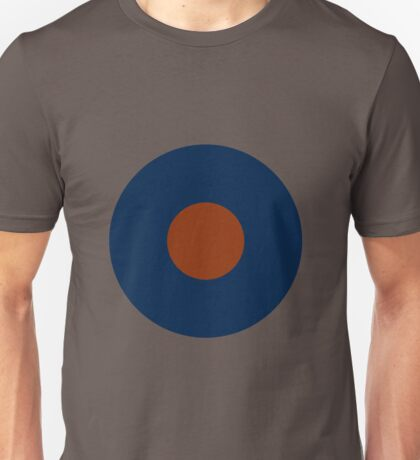Royal Air Force - Historical Roundel Type B 1918 - 1947 Unisex T-Shirt
