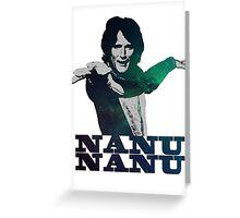 Mork Nanu Nanu Greeting Card